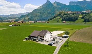 Farm Ranch in Gruyères, Fribourg, Switzerland 1