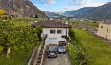Haus in Chamoson, Wallis, Schweiz 1