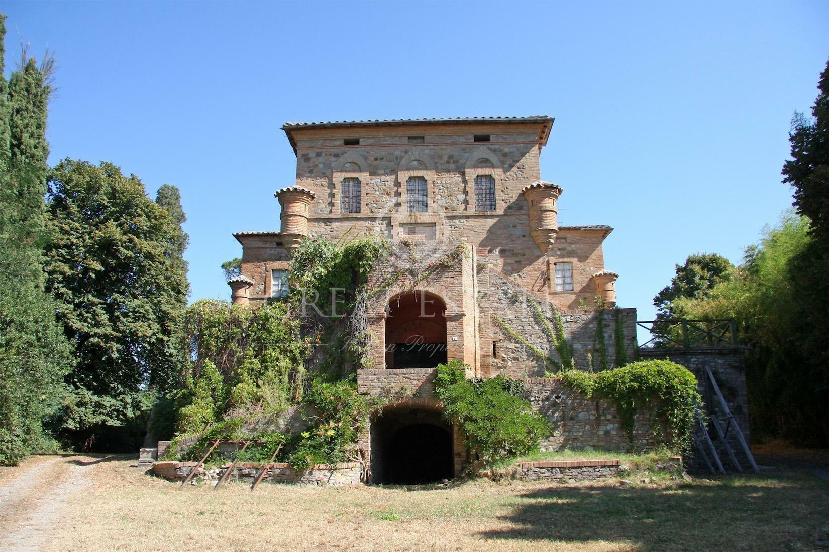 Castle in Umbria, Italy 1 - 10673745