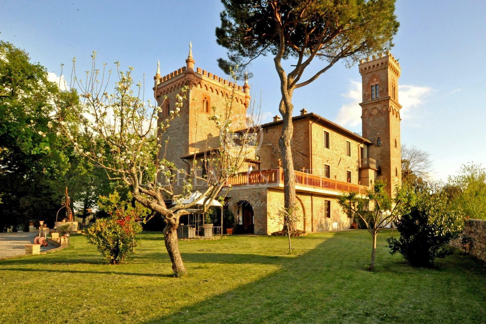 Castle in Umbria, Italy 1 - 10673925