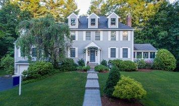 Casa en Needham, Massachusetts, Estados Unidos 1