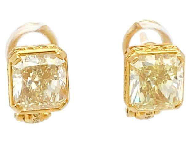 Yellow Diamond Bvlgari Earrings (11548166)