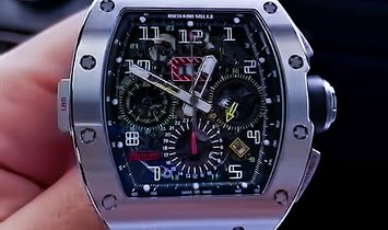 Richard Mille [2018 LIKE NEW] RM 11-02 Titanium GMT Flyback Chronograph Dual Time Zone