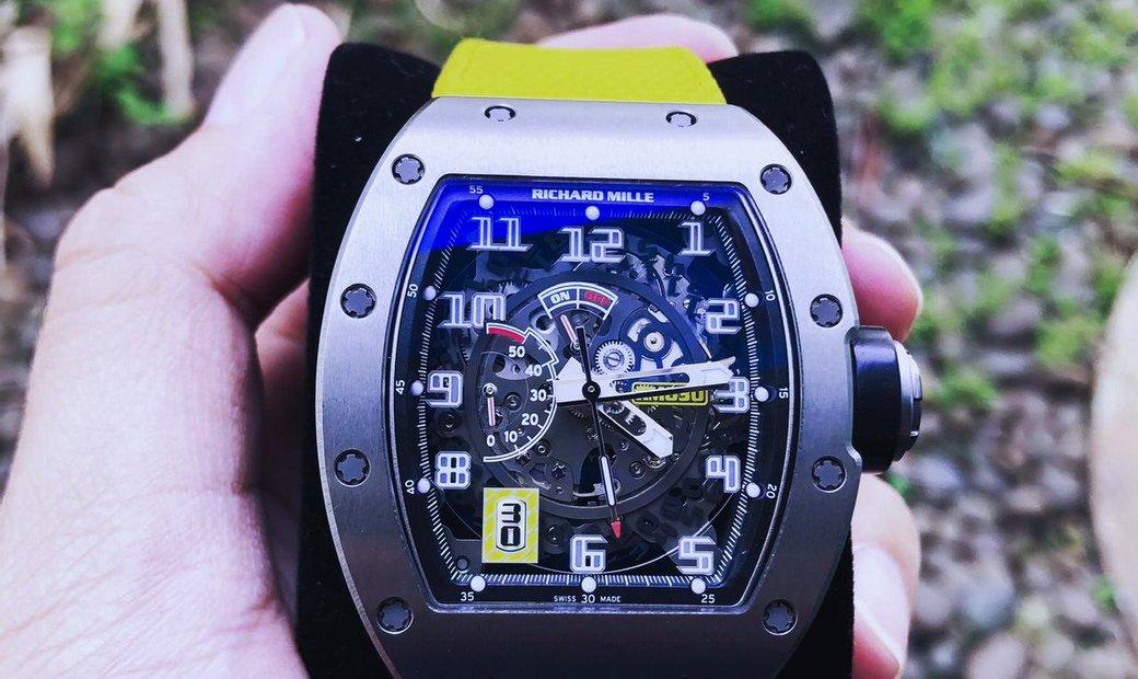 Richard Mille [2015 MINT] RM 030 Titanium Skeleton Dial Watch