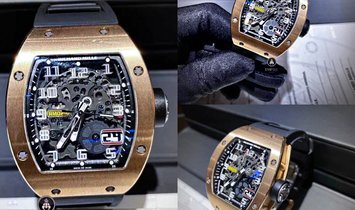 Richard Mille [2020 MINT] RM 029 Big Date Rose Gold Watch
