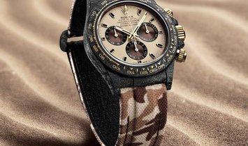 "Rolex DiW NTPT Carbon Daytona ""DESERT EAGLE"" (Retail:EUR 47990)"