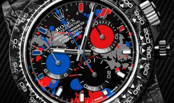 "Rolex DiW NTPT Carbon PEPSI Daytona ""MOTLEY 3S"" (Retail:EUR 50490)"