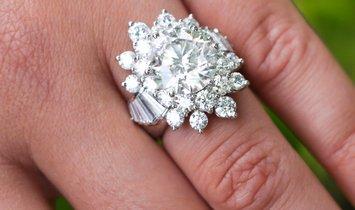 7.45 Carat Diamond Ring