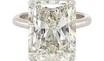 10.089 Carat Diamond Ring