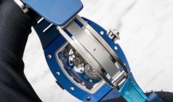 Richard Mille RM 015 Tourbillon in Blue Ceramic
