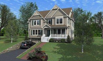 House in Waltham, Massachusetts, United States 1