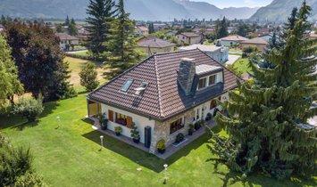 Haus in Vétroz, Wallis, Schweiz 1