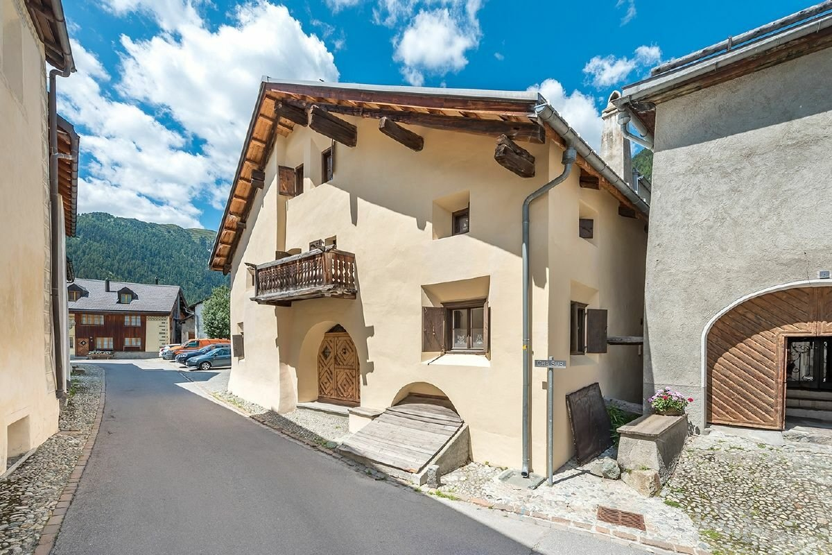 House in Samedan, Grisons, Switzerland 1