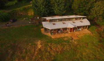Фермерское ранчо в Кокилл, Орегон, Соединенные Штаты Америки 1