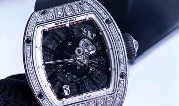 Richard Mille [NEW] RM 023 White Gold Med Set Diamonds