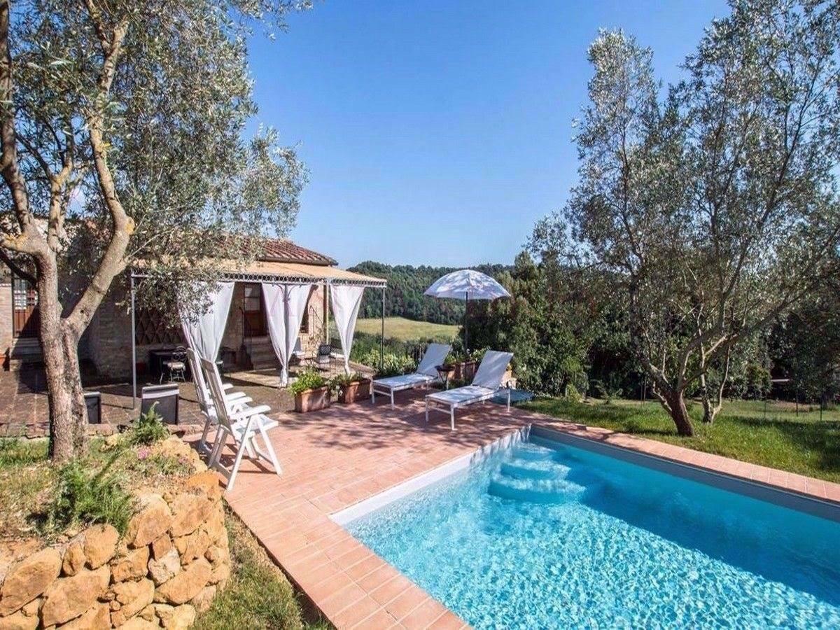 Villa in San Gimignano, Tuscany, Italy 1 - 11424199