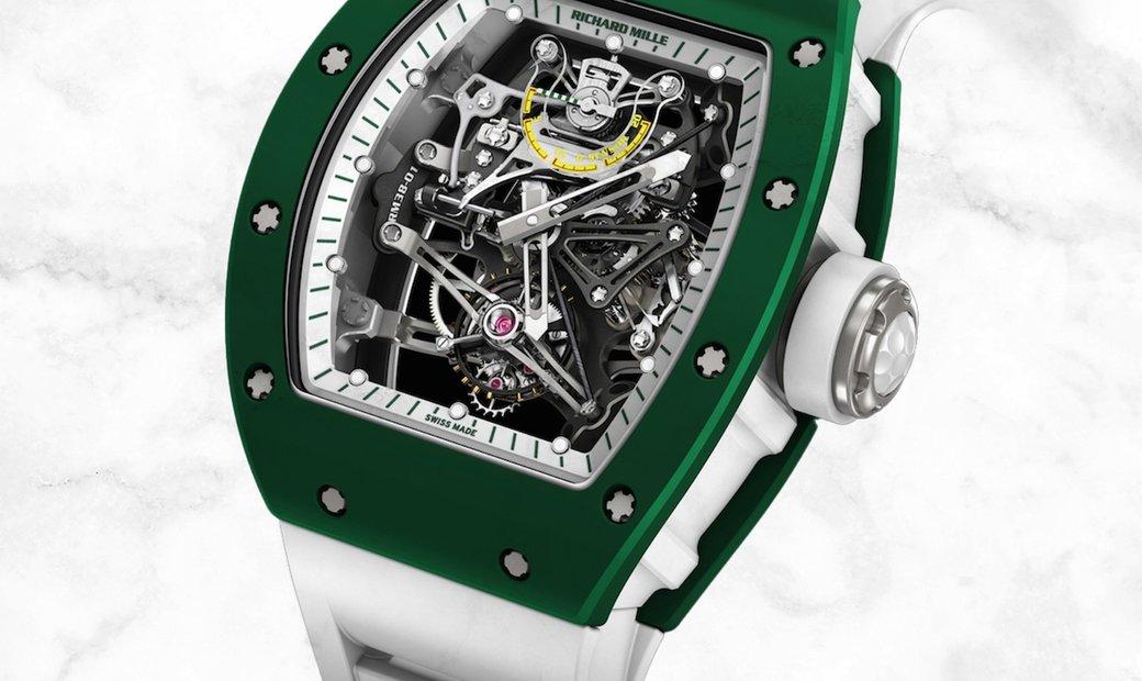 Richard Mille RM 38-01 Green Bubba Watson G-Sensor