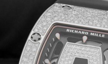Richard Mille RM 07-01 Snow Diamond Setting in White Gold