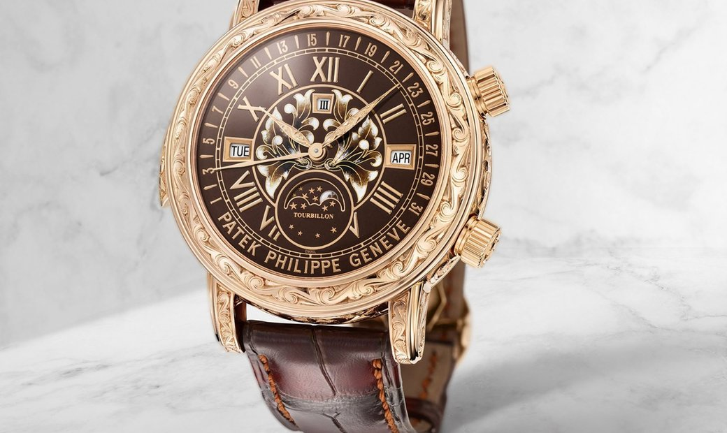 Patek Philippe 6002R Grand Complications Sky and Moon Tourbillon Rose Gold