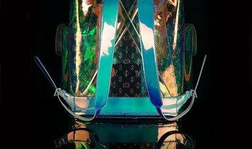Virgil Abloh x Louis Vuitton Abloh Prism Monogram Christopher GM Backpack