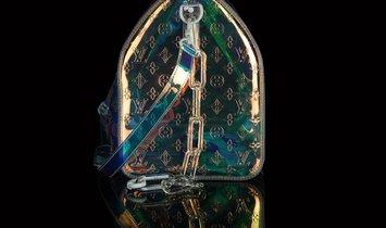 Virgil Abloh x Louis VuittonPrism Monogram Keepall Bandouliere 50