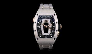 Richard Mille RM037 Automatic Onyx White Gold Ladies Diamond Dial