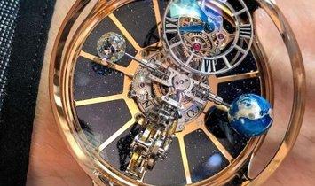 Jacob & Co. 捷克豹 [NEW] Astronomia Tourbillon Rose Gold AT100.40.AC.SD.A