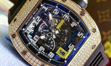 Richard Mille [NEW] RM 030 Rose Gold Full Set Diamonds
