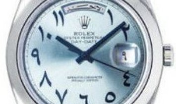 Rolex Day Date Pre-owned Platinum 40mm Men's Watch