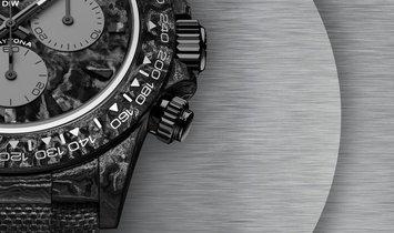 "Rolex DiW Daytona ""ALL CARBON GRAPHITE"" (Retail: EUR 46990)"