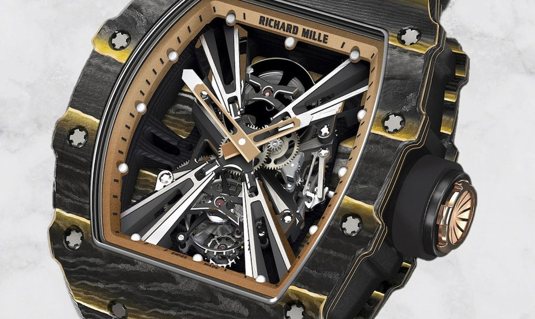Richard Mille RM 12-01 Tourbillon in Gold and Carbon TPT