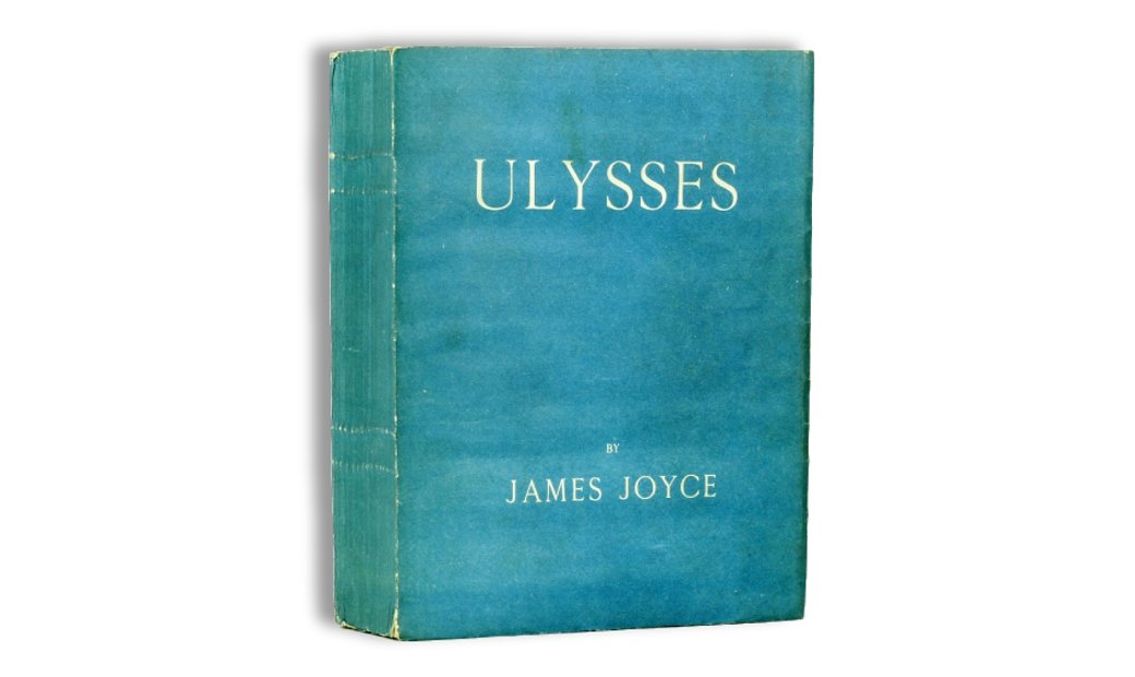 James Joyce's ULYSSES, first edition, Shakespeare press, 1922.