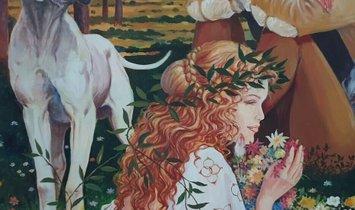 Milo Manara - Tribute to Botticelli, 2001