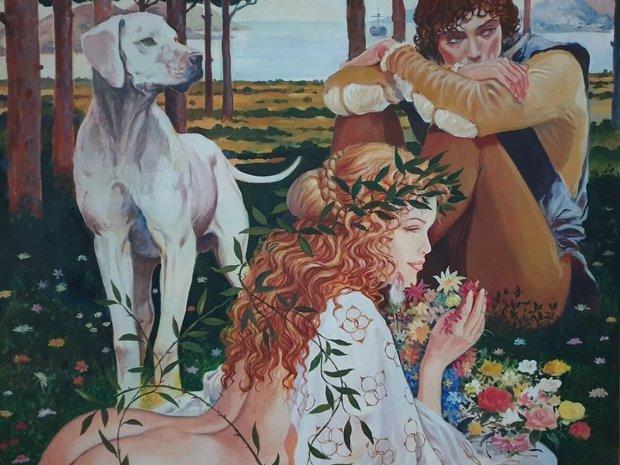 Milo Manara - Tribute to Botticelli, 2001 (11604702)