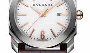 BVLGARI OCTO SOLOTEMPO WHITE DIAL 41MM 102207