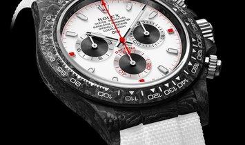 "Rolex DiW NTPT Carbon Daytona ""WHITE SPEEDSTER"" (Retail:EUR 42990)"