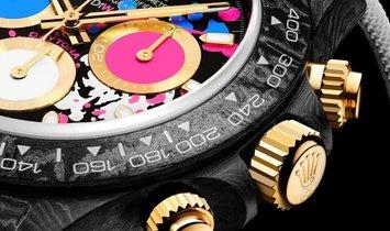 """Rolex DiW Carbon Daytona """"MOTLEY LADY UNIQUE"""" (Retail:US$62,990)"""