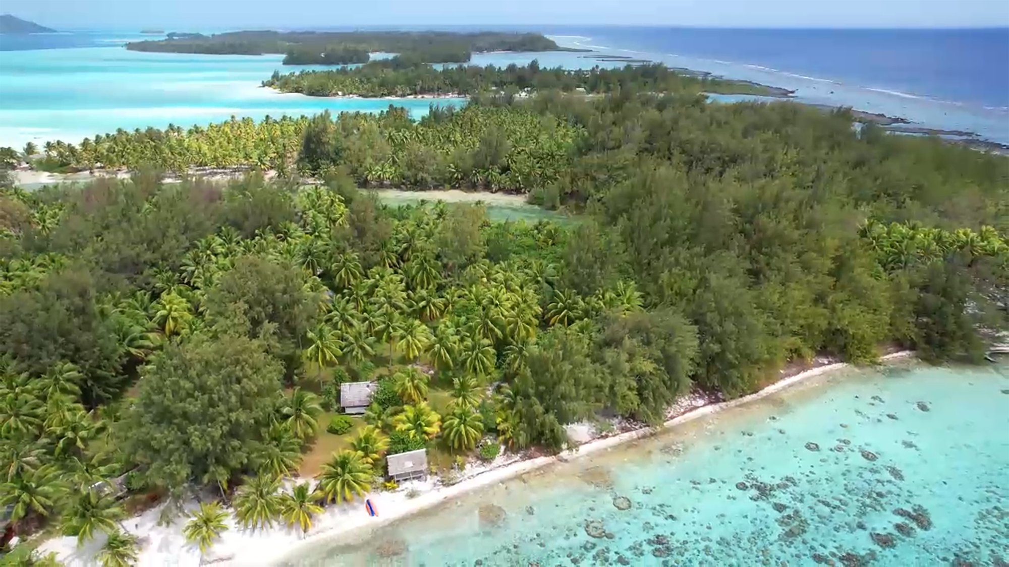 Land in Bora-Bora, Leeward Islands, French Polynesia 1 - 11630595