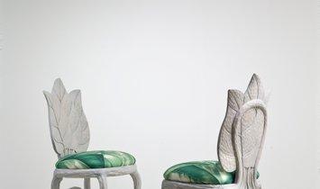 MAGNOLIA LEAF - unique seats inspired buy nature of truly authentic Italian craftmanship