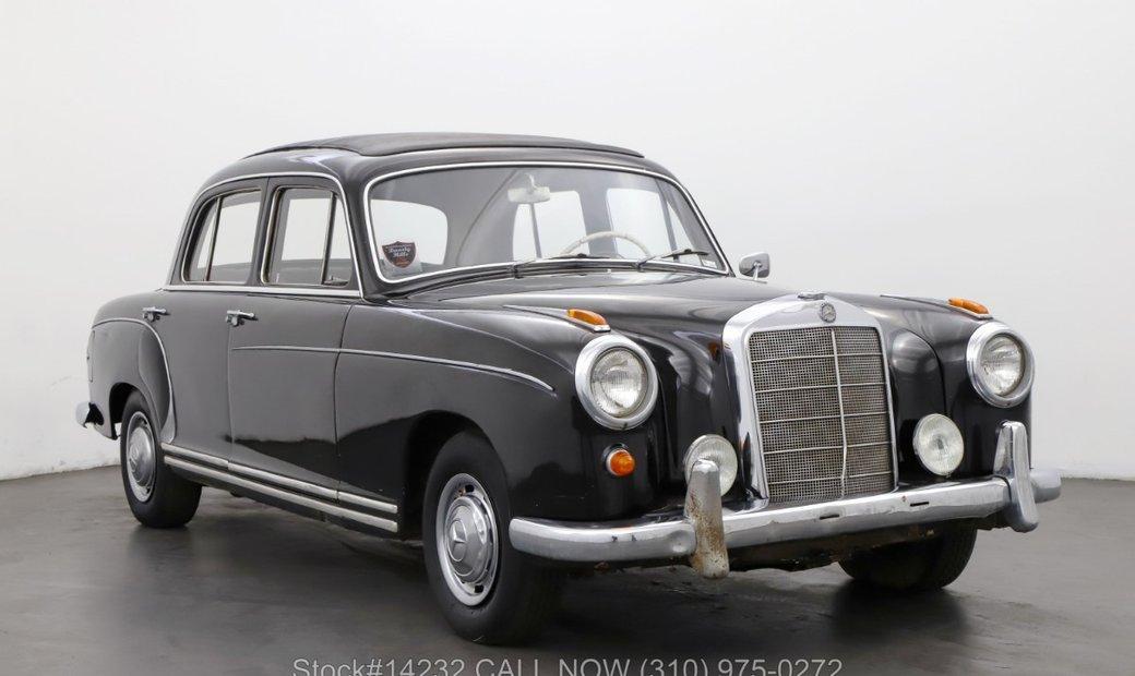 Mercedes-Benz 220S Webasto Sunroof
