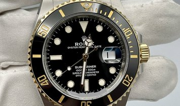 Rolex Submariner Date 41 Yellow Gold & Stainless Steel Black Dial 126613LN