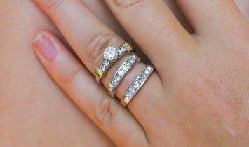 .95 Carat Diamond Ring