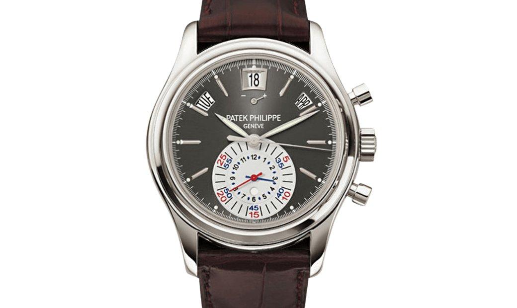 Patek Philippe Annual Calendar Chronograph Platinum 5960P-001