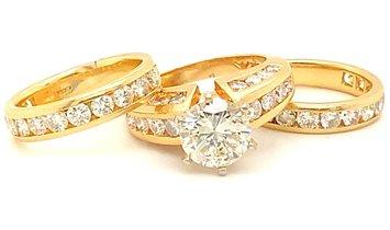 2.10 Carat Diamond Ring
